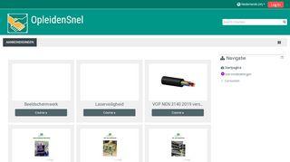 Online portal OpleidenSnel