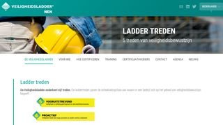 Safety Culture Ladder treden