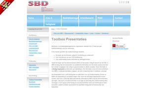 SBD toolboxen