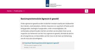 BIM Agressie & geweld