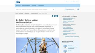 De Safety Culture Ladder (Veiligheidsladder)