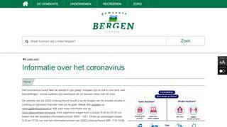 Corona in Bergen (L)