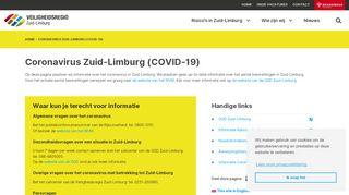 Veiligheidsregio Limburg Zuid